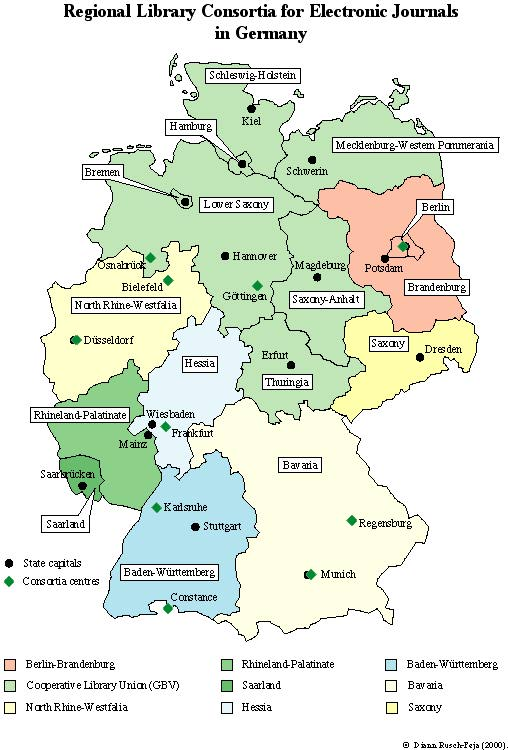 Some Consortial Models For Acquiring Electronic Resources In Germany